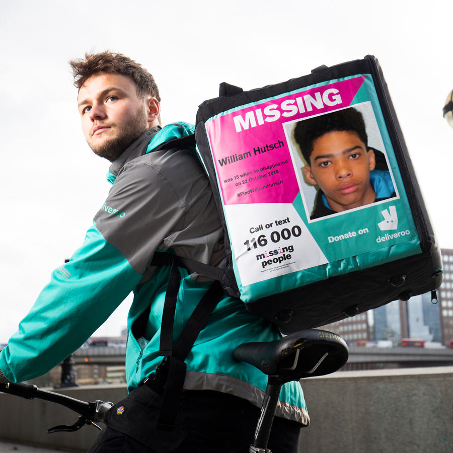 Deliveroo Missing People